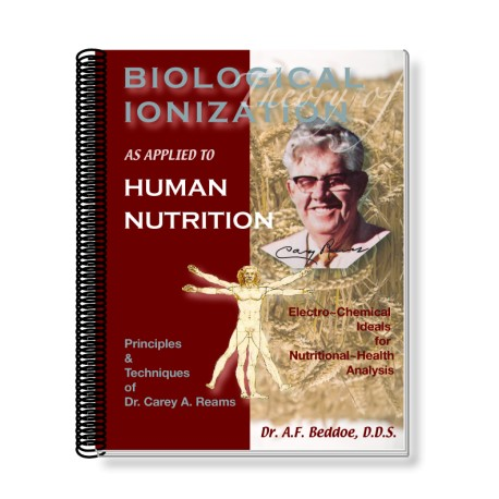 Biological Ionization As Applied to Human Nutrition