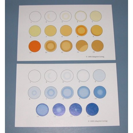 Urea Color Cards