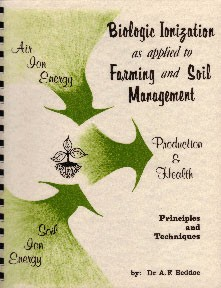 Books about sustainable agriculture and biological farming.